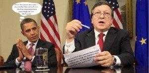¤ Mandat a été donné par nos gouvernements à la Commission européenne pour négocier l'Accord transatlantique avec les USA : le début de la fin de la démocratie en Europe ! dans Outils/Bon à savoir obamaroso-300x148